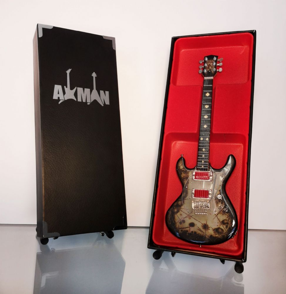 (Rammstein) Richard Z. Kruspe: RZK- II - Miniature Guitar Replica
